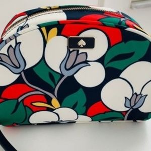 Kate Spade Floral New Breezy Medium Dome Cosmetic